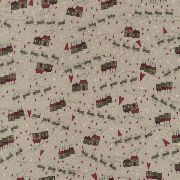 Winter Village - Taupe 2331-03