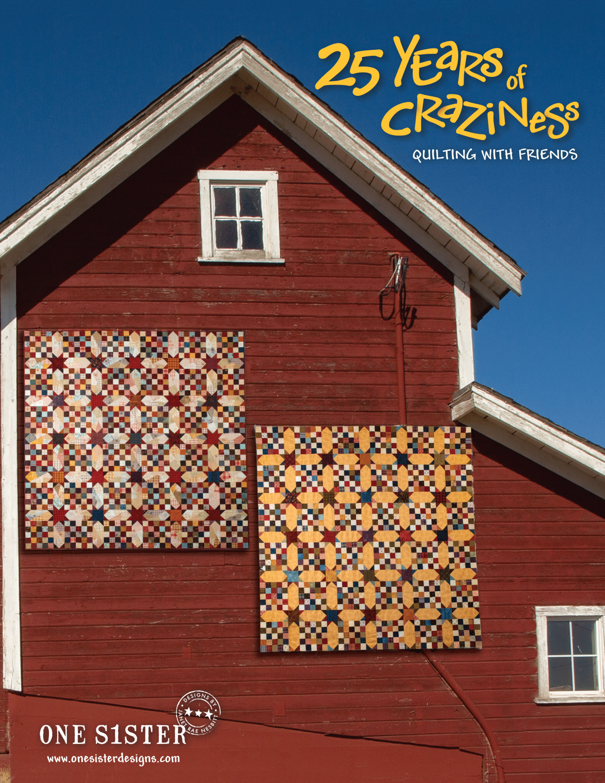 25 Years of Craziness-quilting with friends