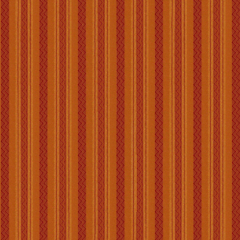 Autumn Song Orange Stripe homespun 8795Y-35