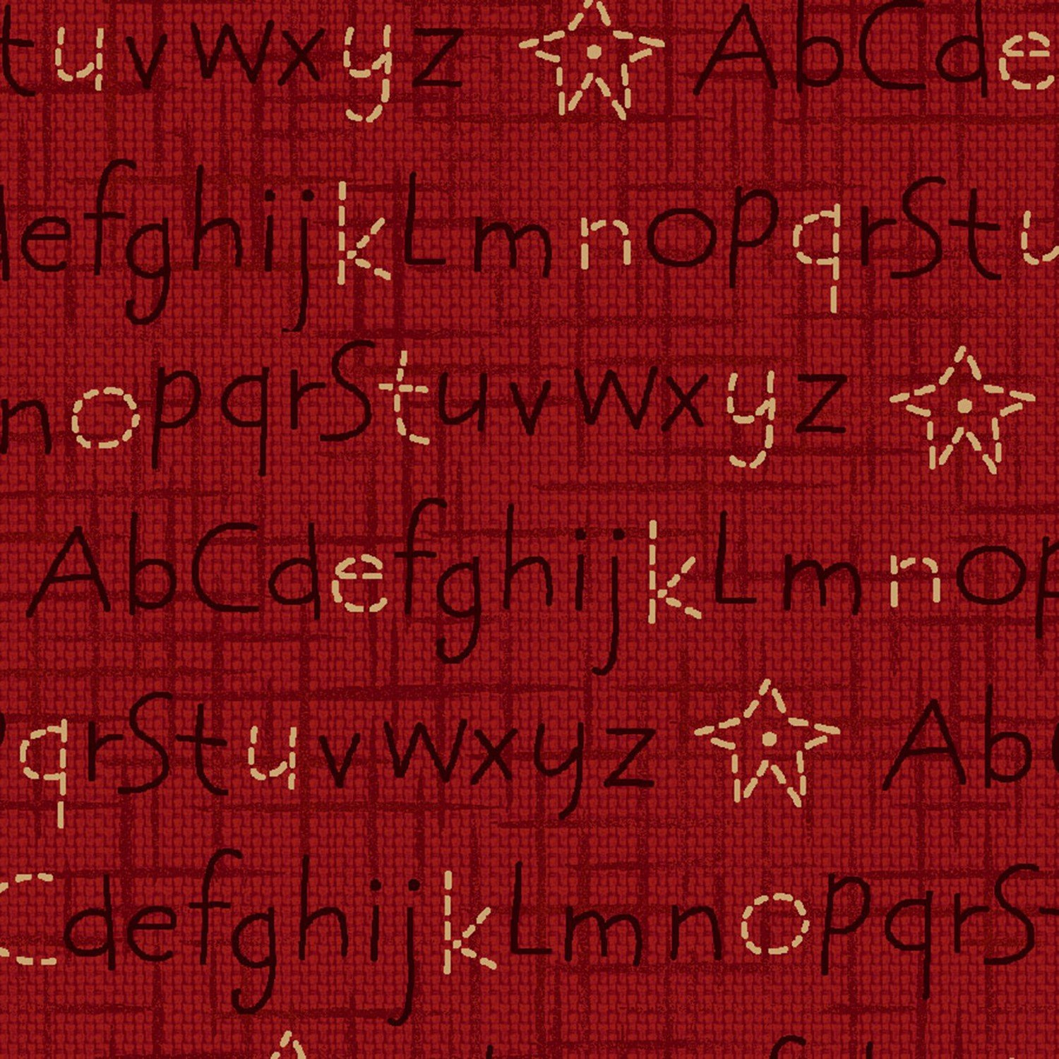 ABC fabric red 8833-88