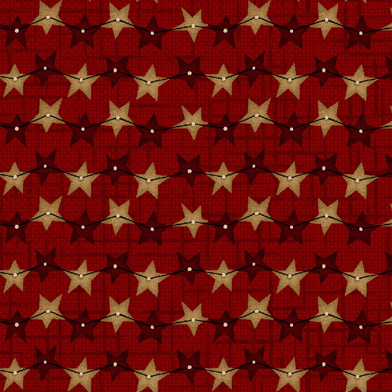 String of Stars Red 8837-89