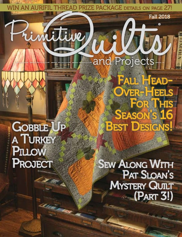 Primitive Quilts and  Projects Fall 2018