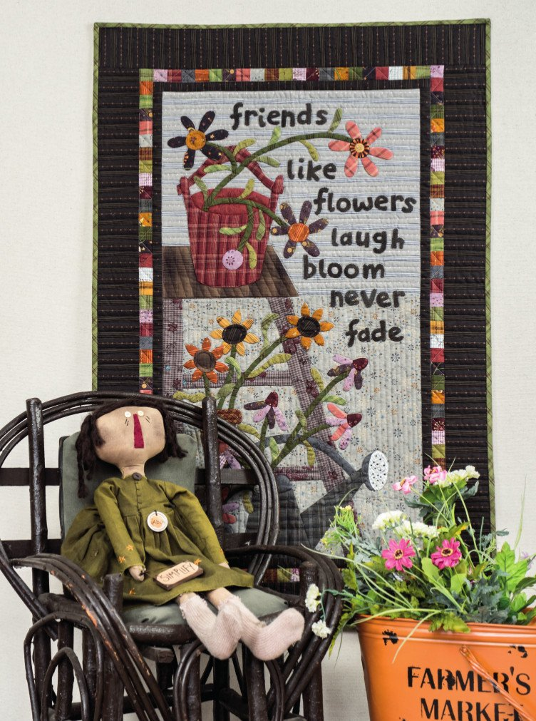 Friends Never Fade Applique kit