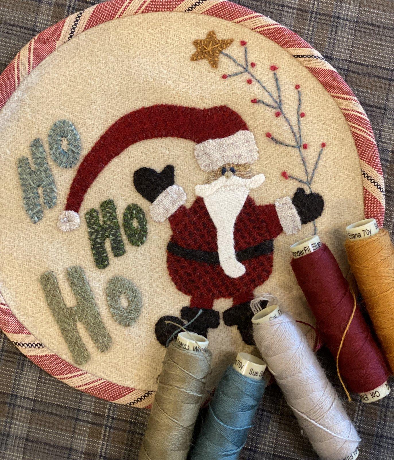 HO HO HO kit with pattern