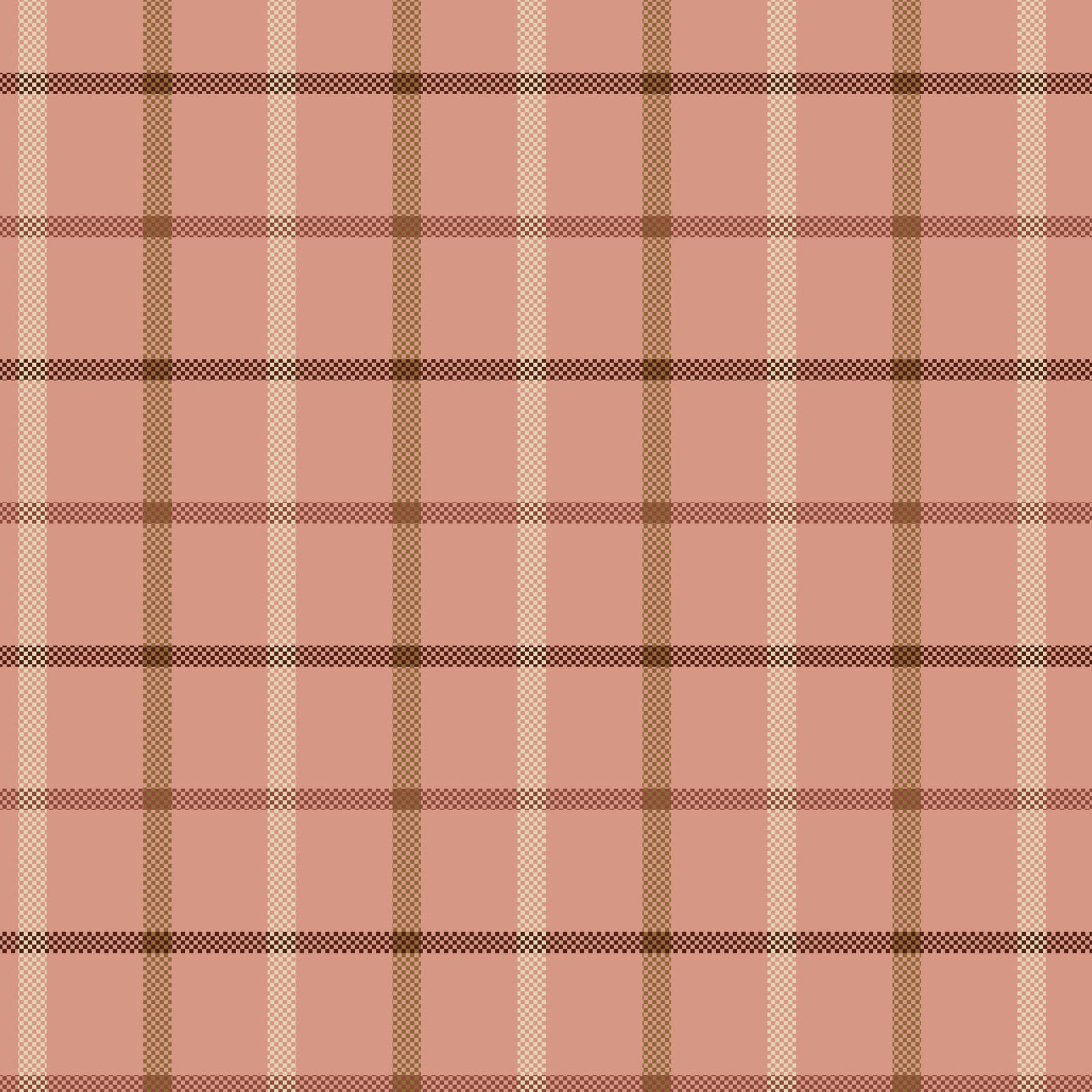 Cherry Blossoms Light Pink Plaid 8685Y-22