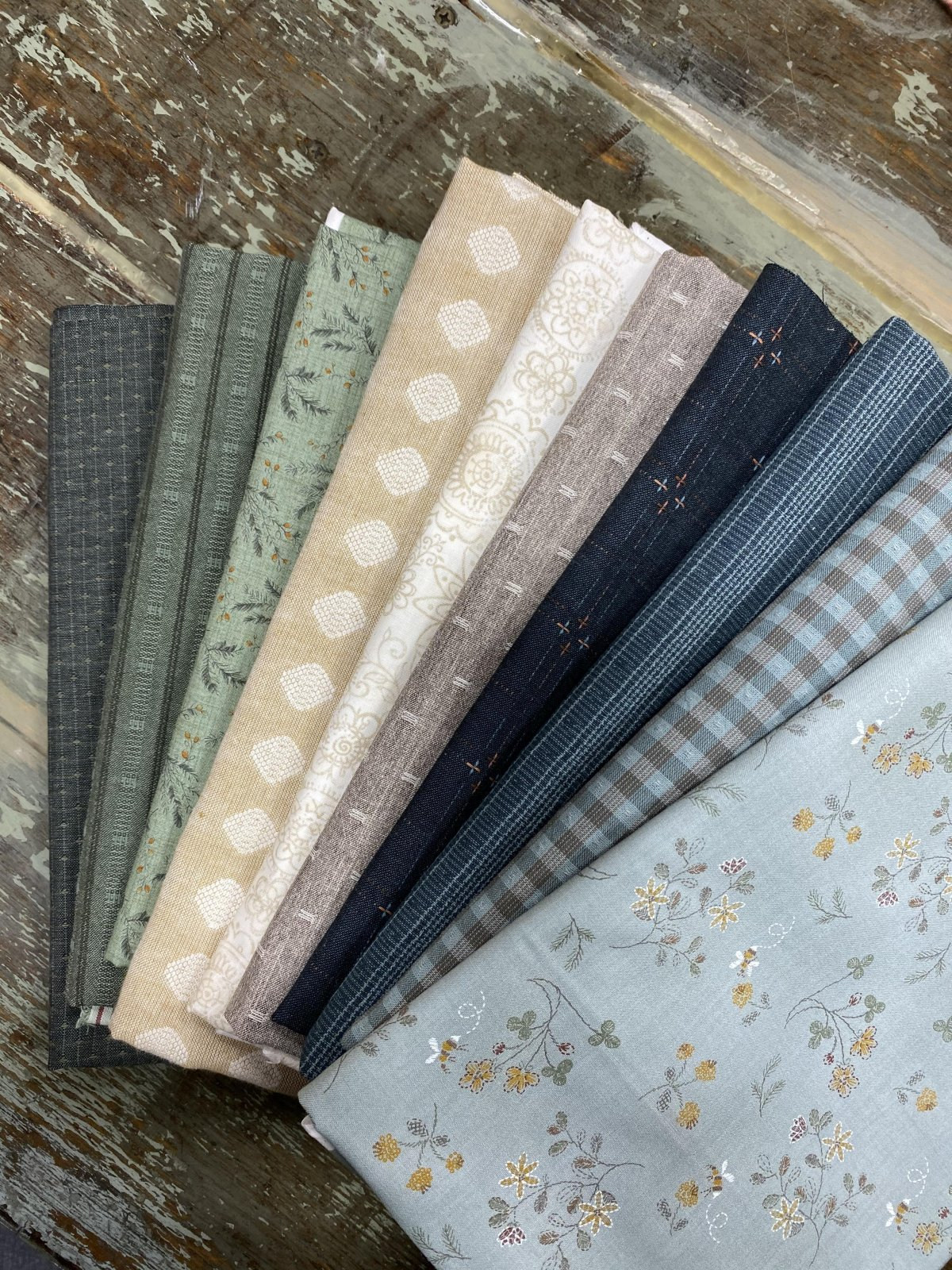 My Favorite Color is Moda Sew Along fabric bundle