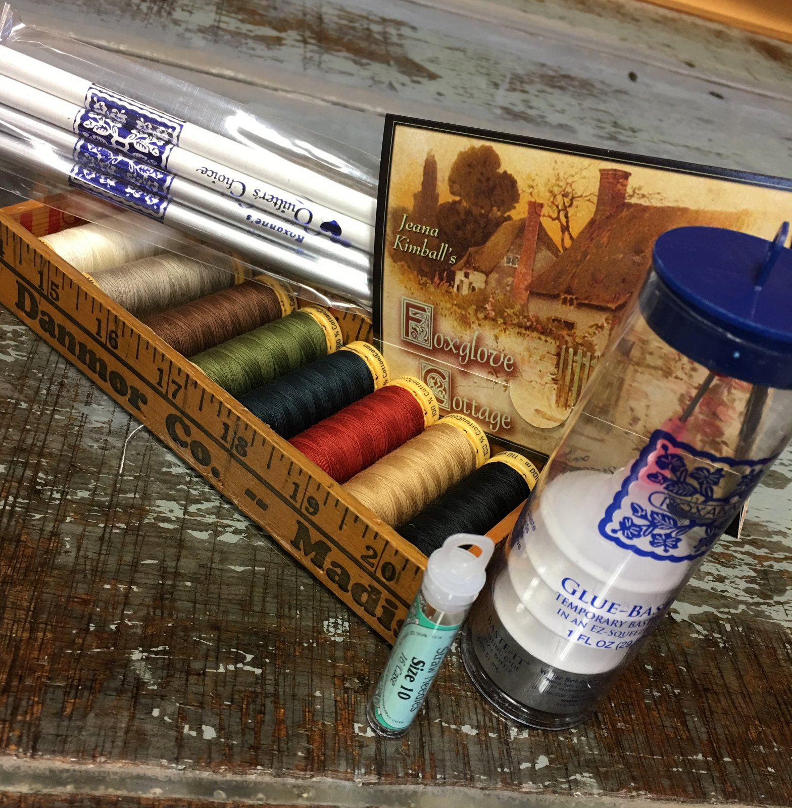 Applique Starter Kit with straw needles