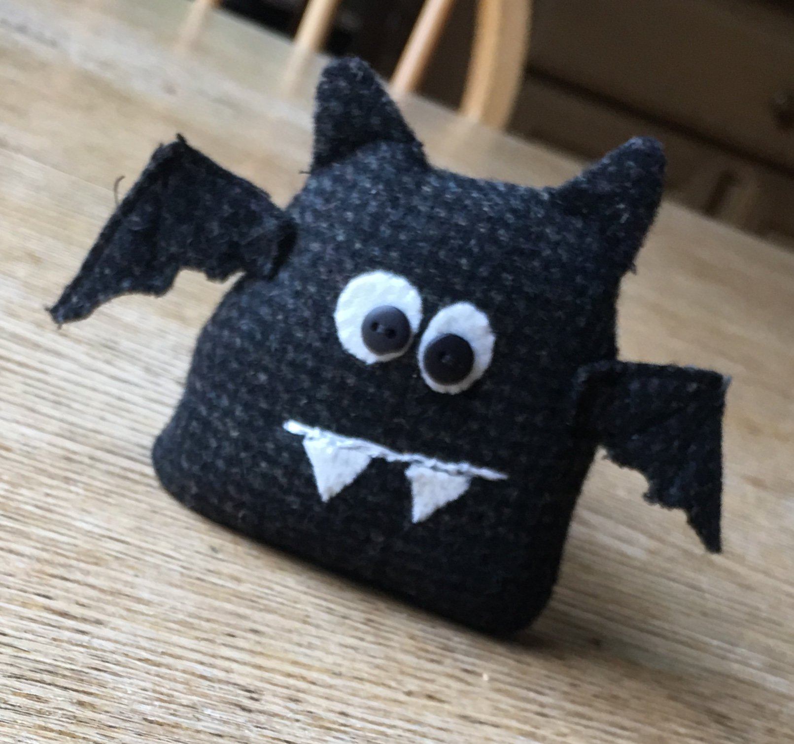 Batty Make-Do kit with pattern