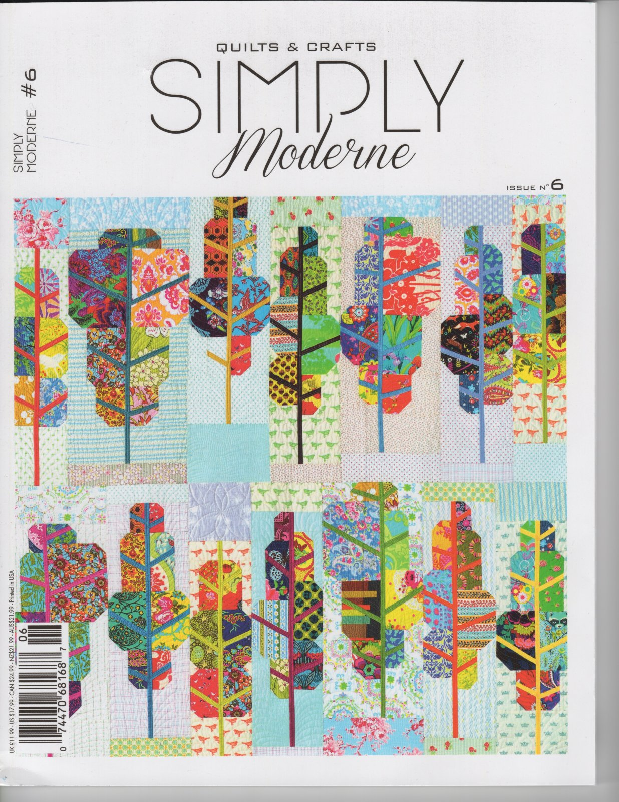 Quiltmania Simply Moderne issue #6