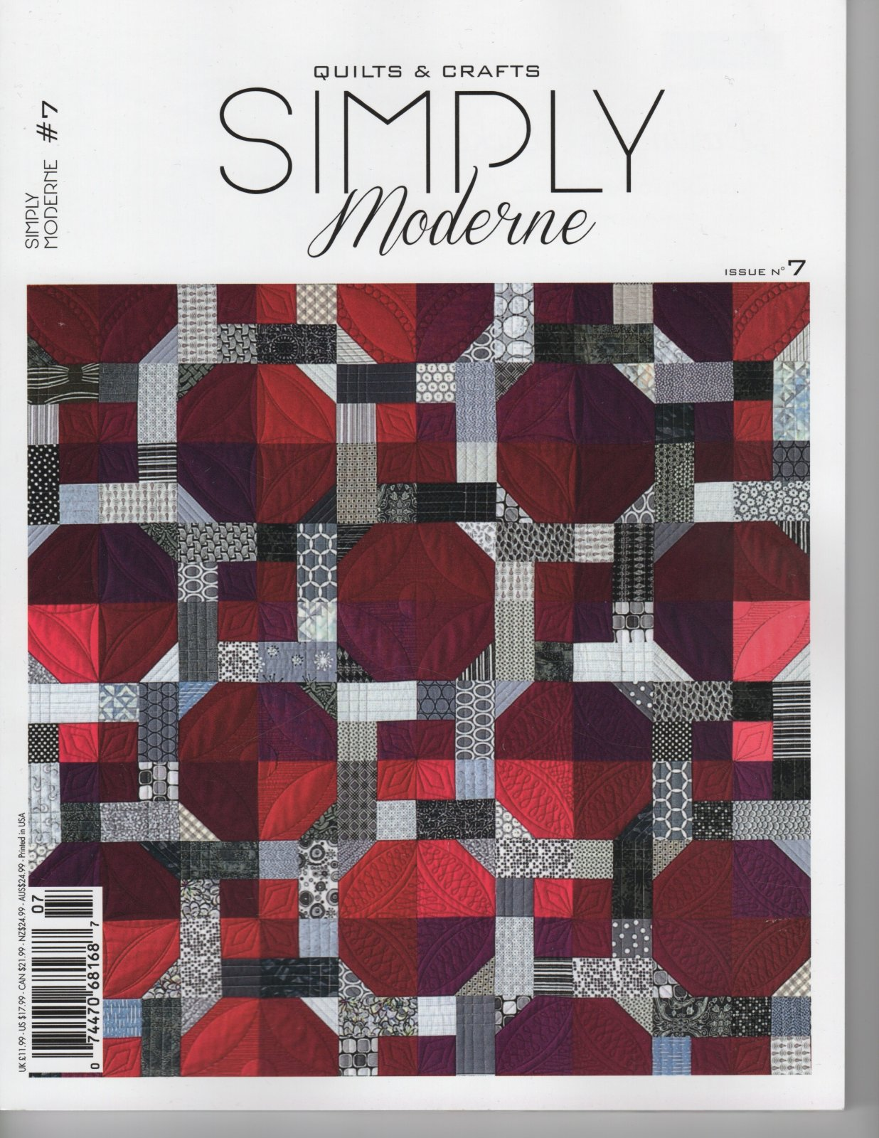 Quiltmania Simply Modern Issue 7