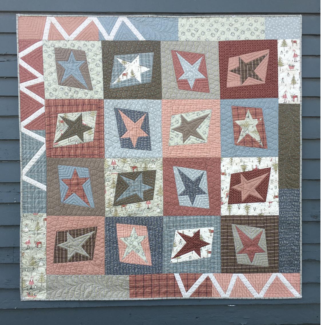 Anni's Aussie Stars kit with pattern