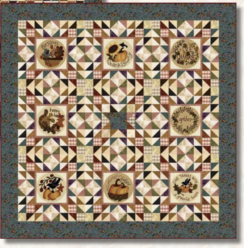 Blessings of Home Quilt #1 kit