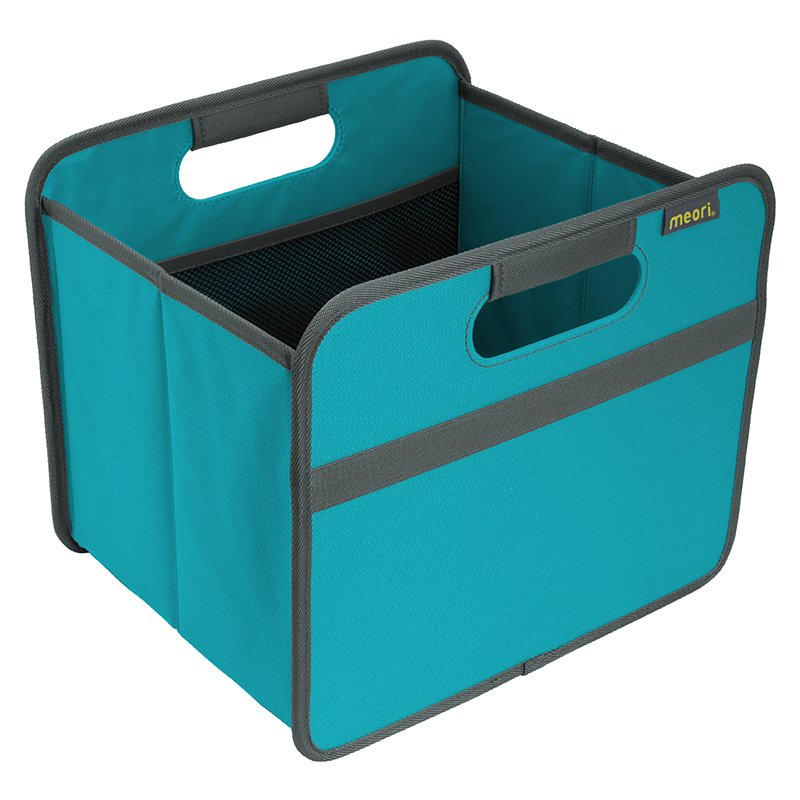 Foldable Box Small Azure Blue