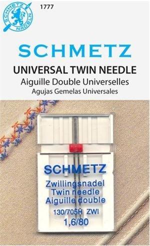 Schmetz 1 Universal Twin Needle