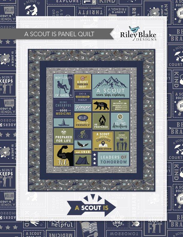 Boy Scout Quilt Kit