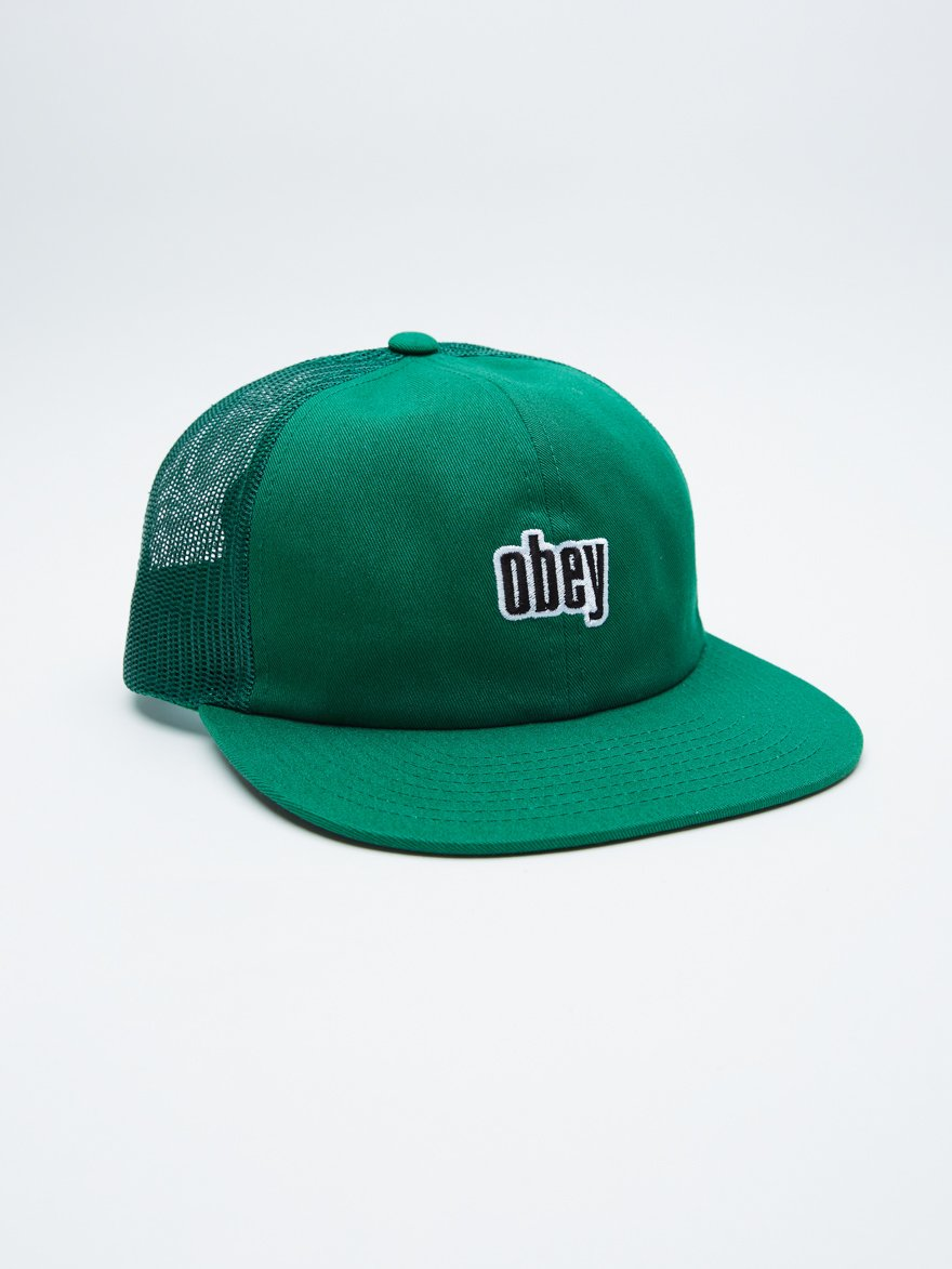 Obey Highland 6 Panel Trucker