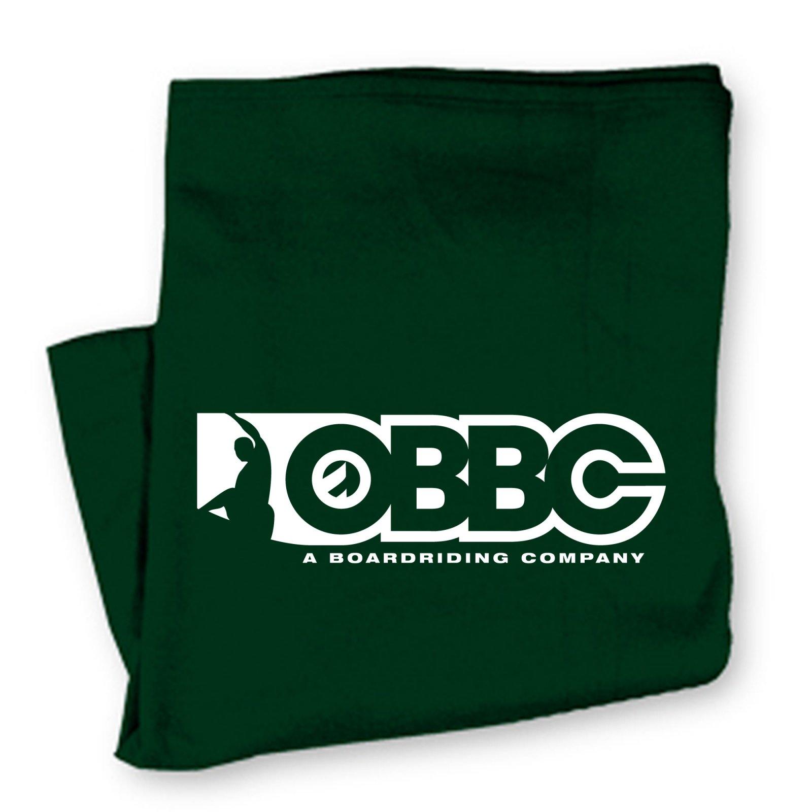 OBBC Beach Blanket Forest Green