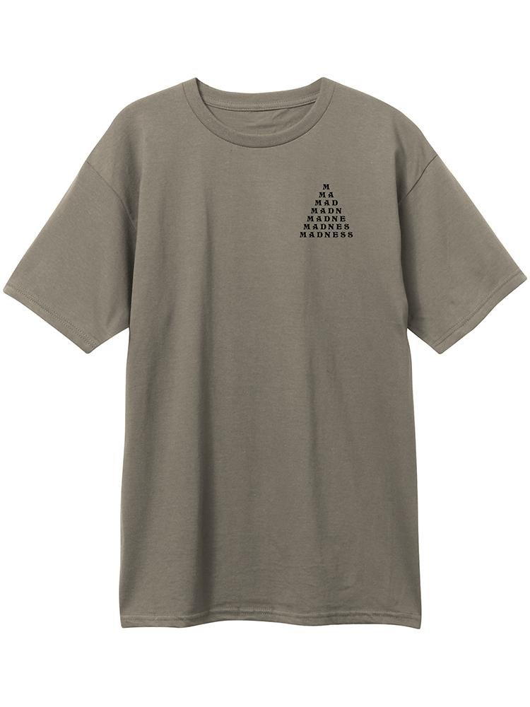 Madness Trickle Down SS Tee Warm Gray