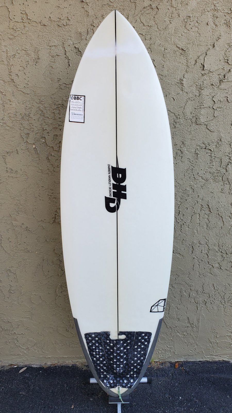 Used Con DHD Black Diamond 5'8 Surfboard
