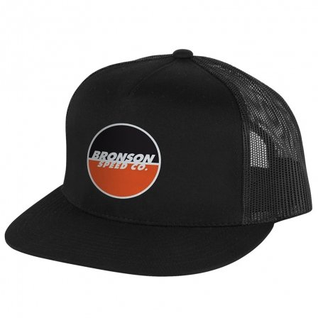 Bronson Logo Trucker Hat Black