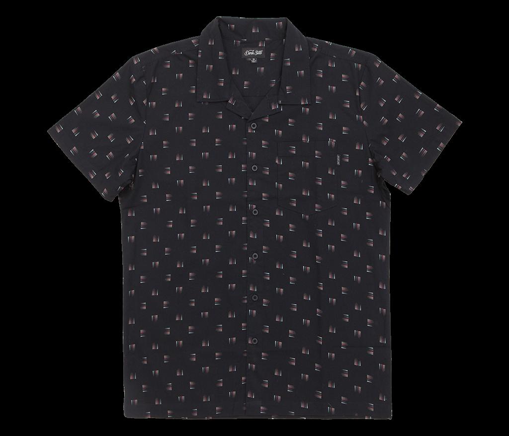 Dark Seas Cowells Shortsleeve Shirt Black