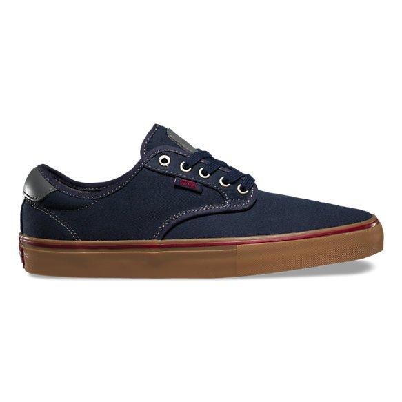 Vans Chima Pro Shoe (Covert Twill)Navy/Gum
