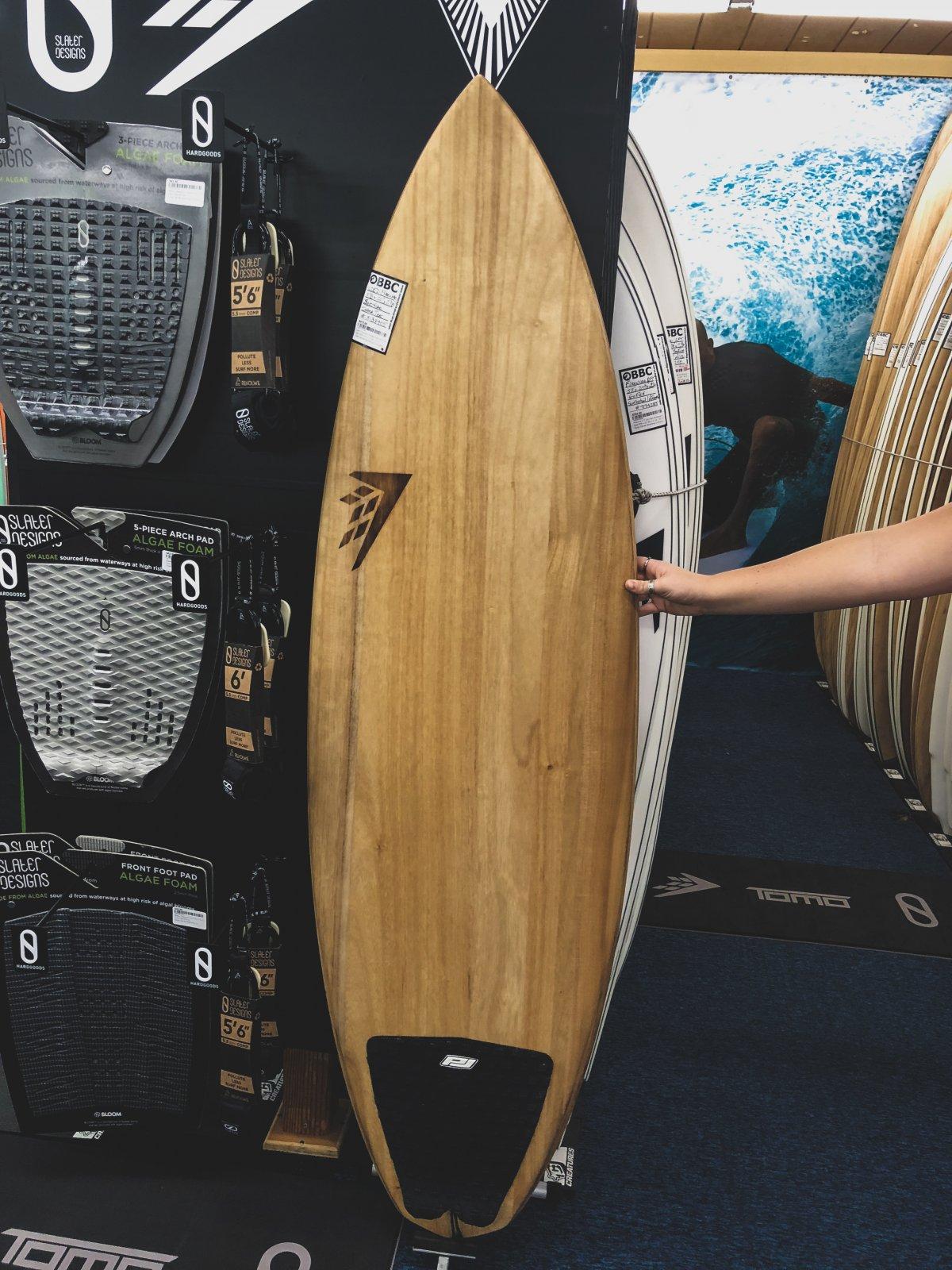 Used Firewire Timber Tek Spitfire Surfboard