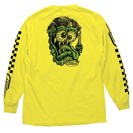 Creature Grease Monkey LS Tee Shirt Yellow