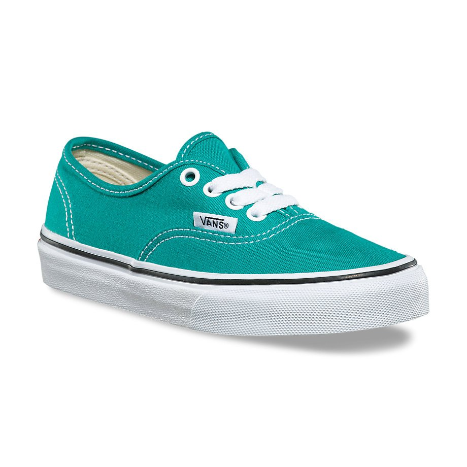 Vans Youth Authentic Teal Blue/True White