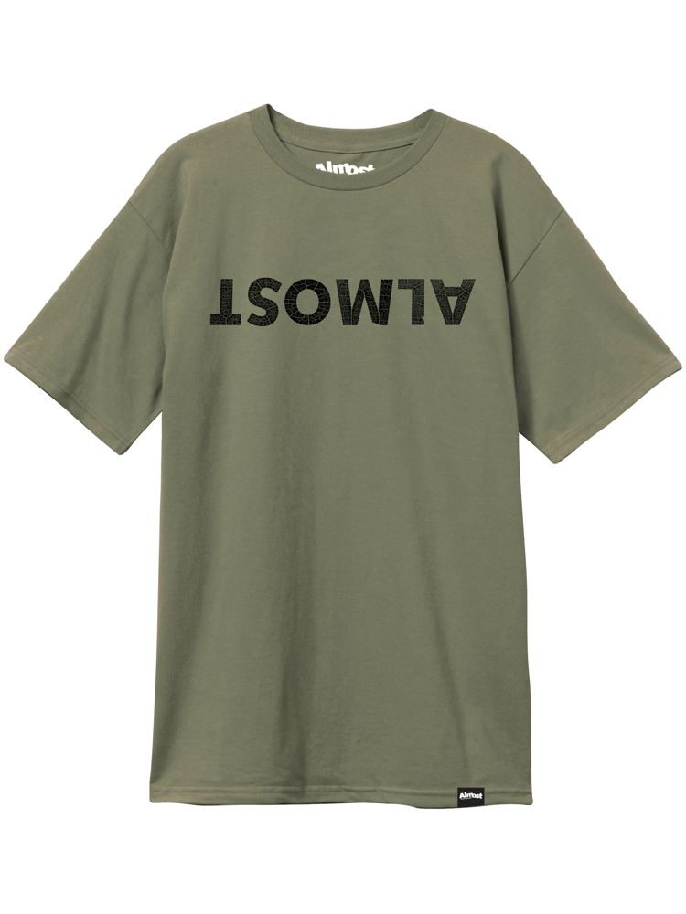 Almost Almost Center Tee Military Green