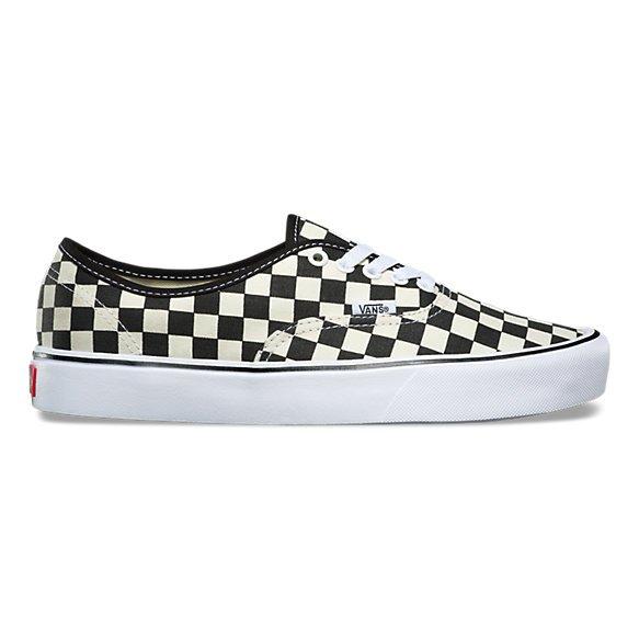 Vans Authentic Lite (Checkerboard) Black/White