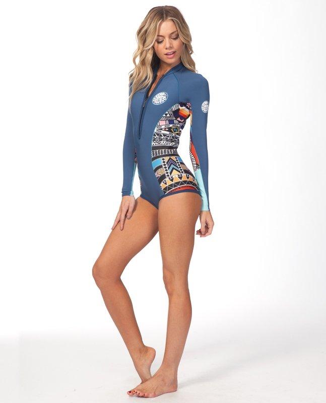 17a45c33b0 Rip Curl Womens G-Bomb L SL Bikini Cut Blue - 9348282592037