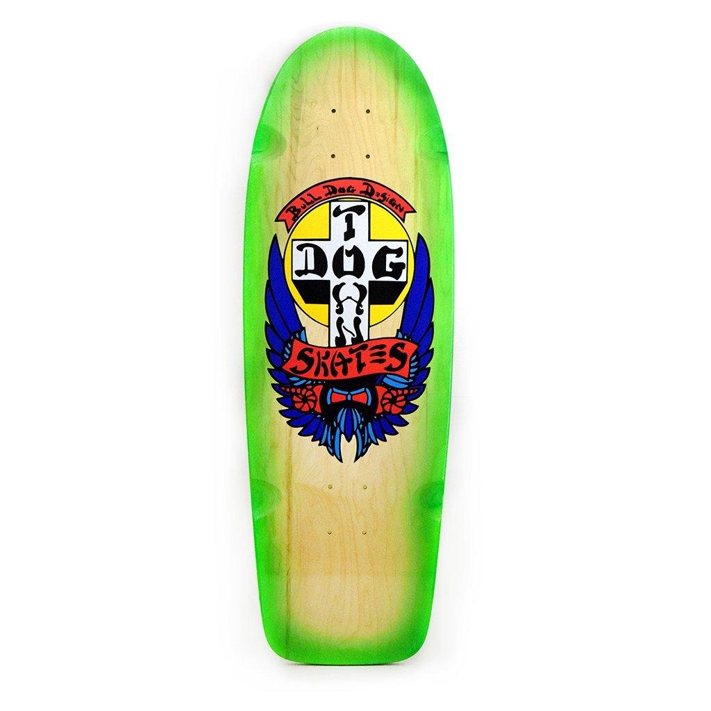 Dogtown OG Rider Bulldog 10 Neon Green Fade