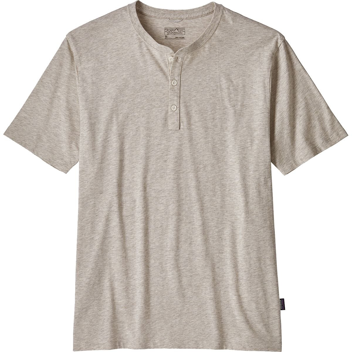 Patagonia Squeaky Clean Henley Tee Birch White