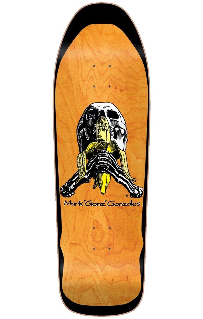 Blind Gonz Skull & Banana Reissue Deck Screen Printed