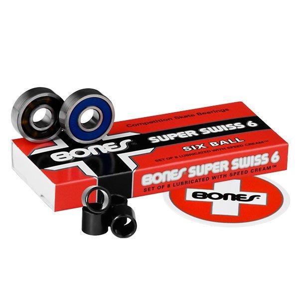 Bones Super Swiss 6 Bearing 8 pack