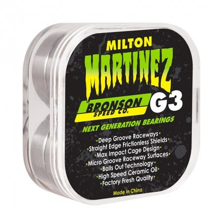 Bronson Speed Co. Milton Martinez Pro G3 Bearing 8 Pack