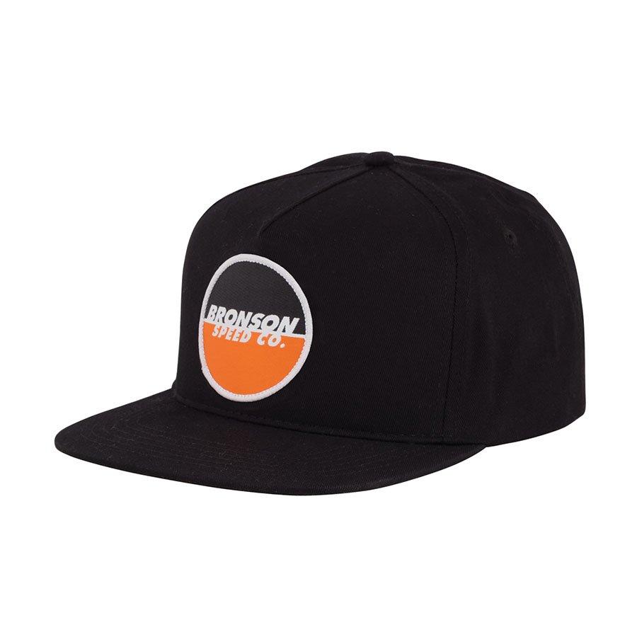 Bronson Spot Logo Hat Black