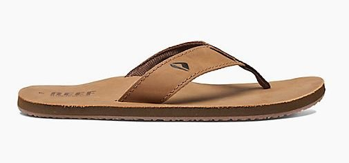 Reef Leather Smoothy Sandal Bronze Brown