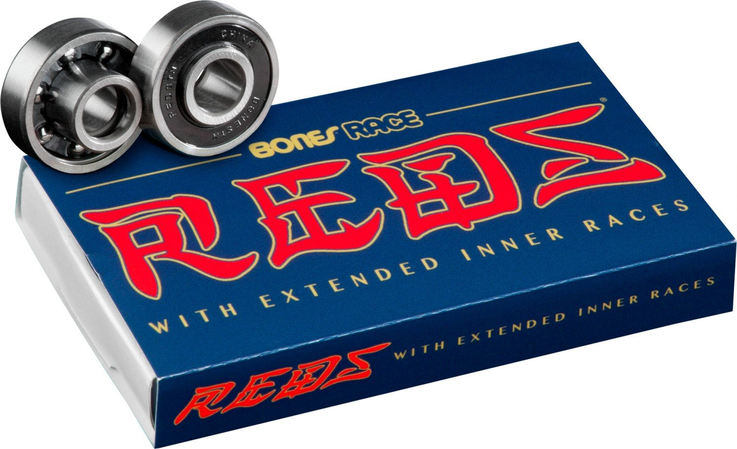 Bones Race Reds Bearing 8 Pack