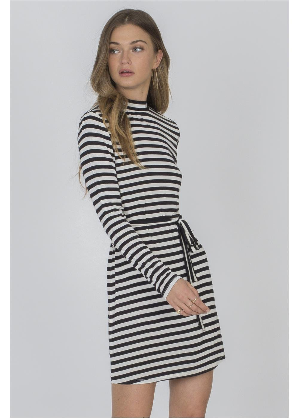 Amuse Society Frolic Dress Stripe