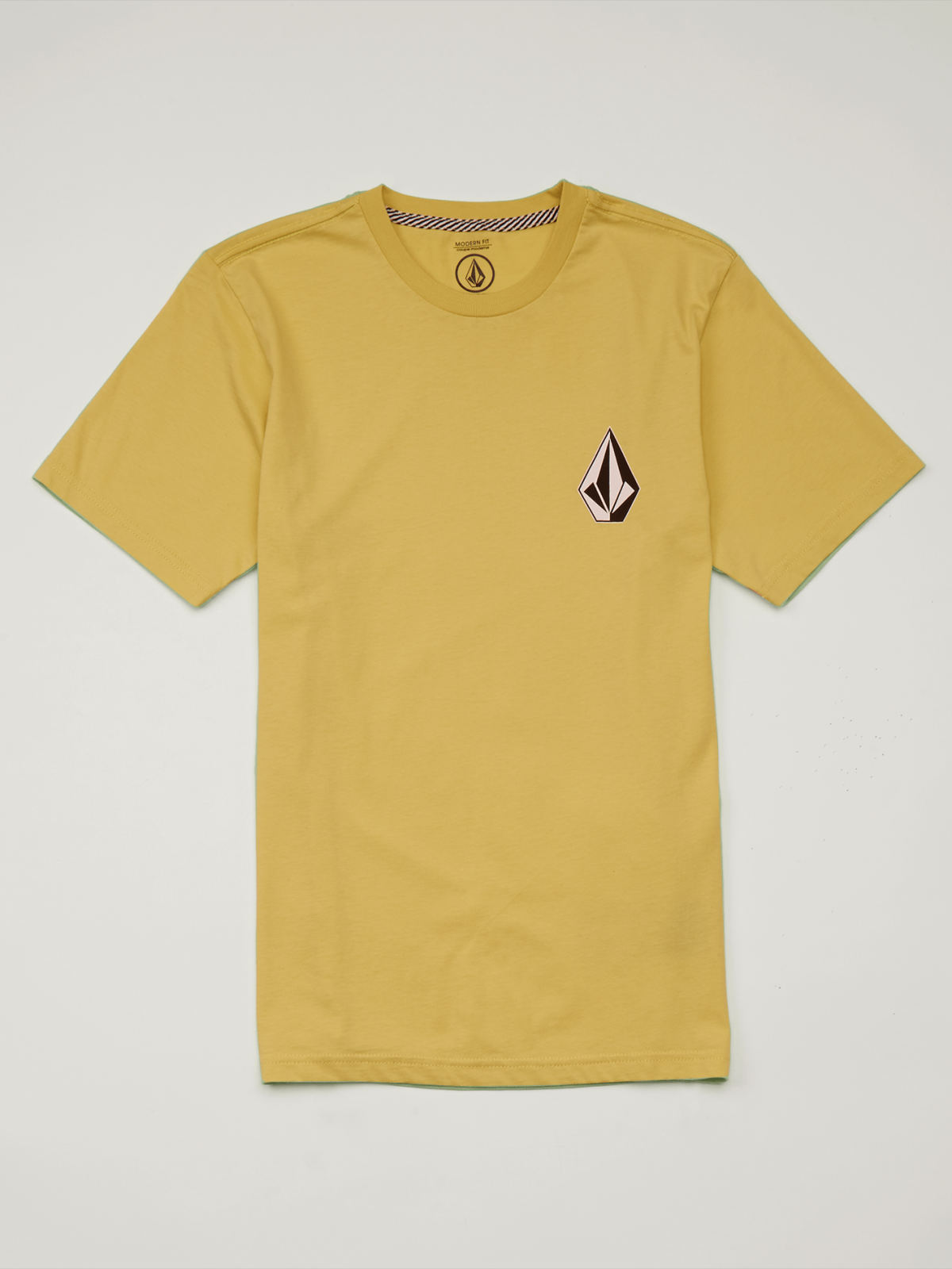 Volcom Boys (8-14) Deadly Stone Tee Acid Yellow