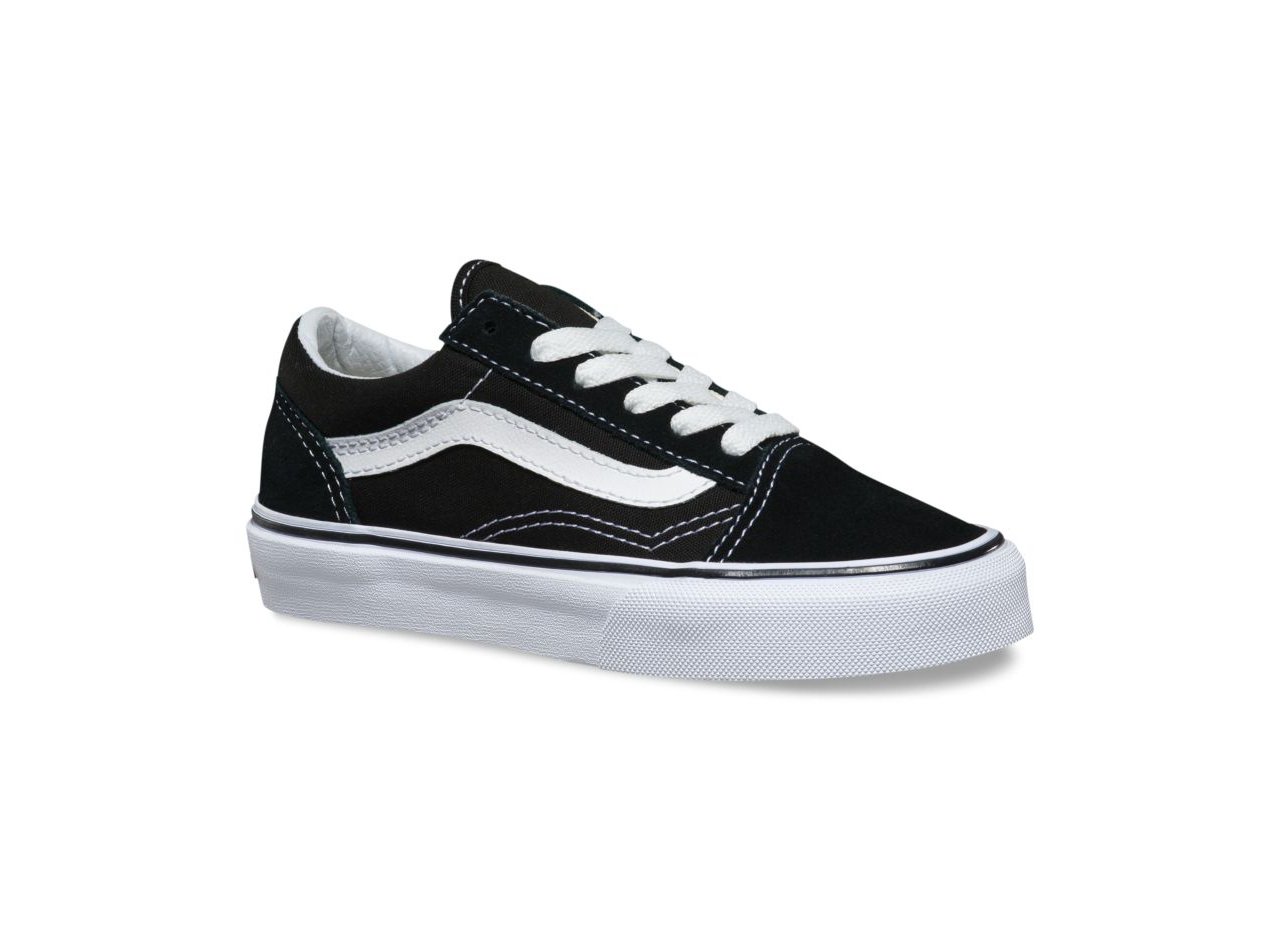 Vans Toddlers Old Skool Black/White