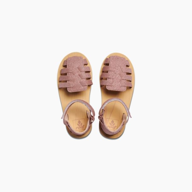 Reef Little Prep Sandals Rose Gold
