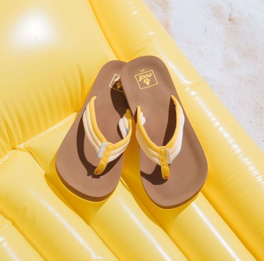 Reef Ahi Beach Sandals Sunshine
