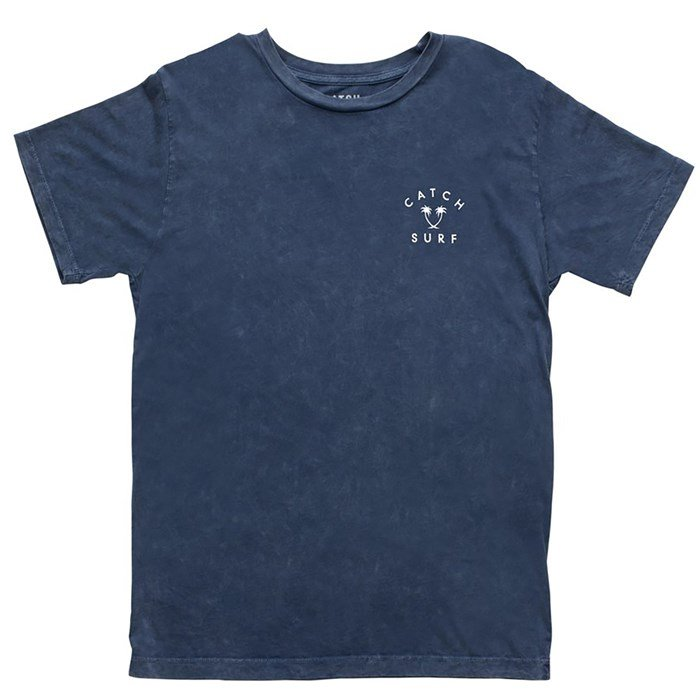 Catch Surf Iconic Palms Tee Navy