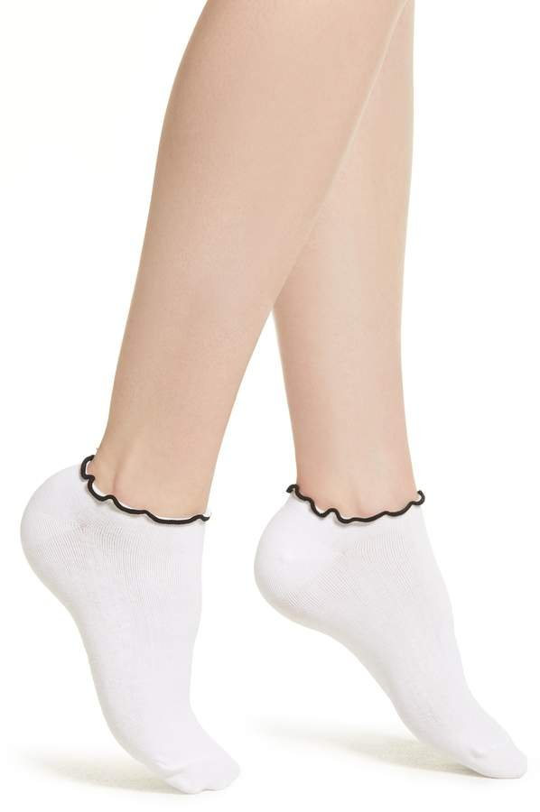 Richer Poorer Sugar Ruffle Top Ankle Sock