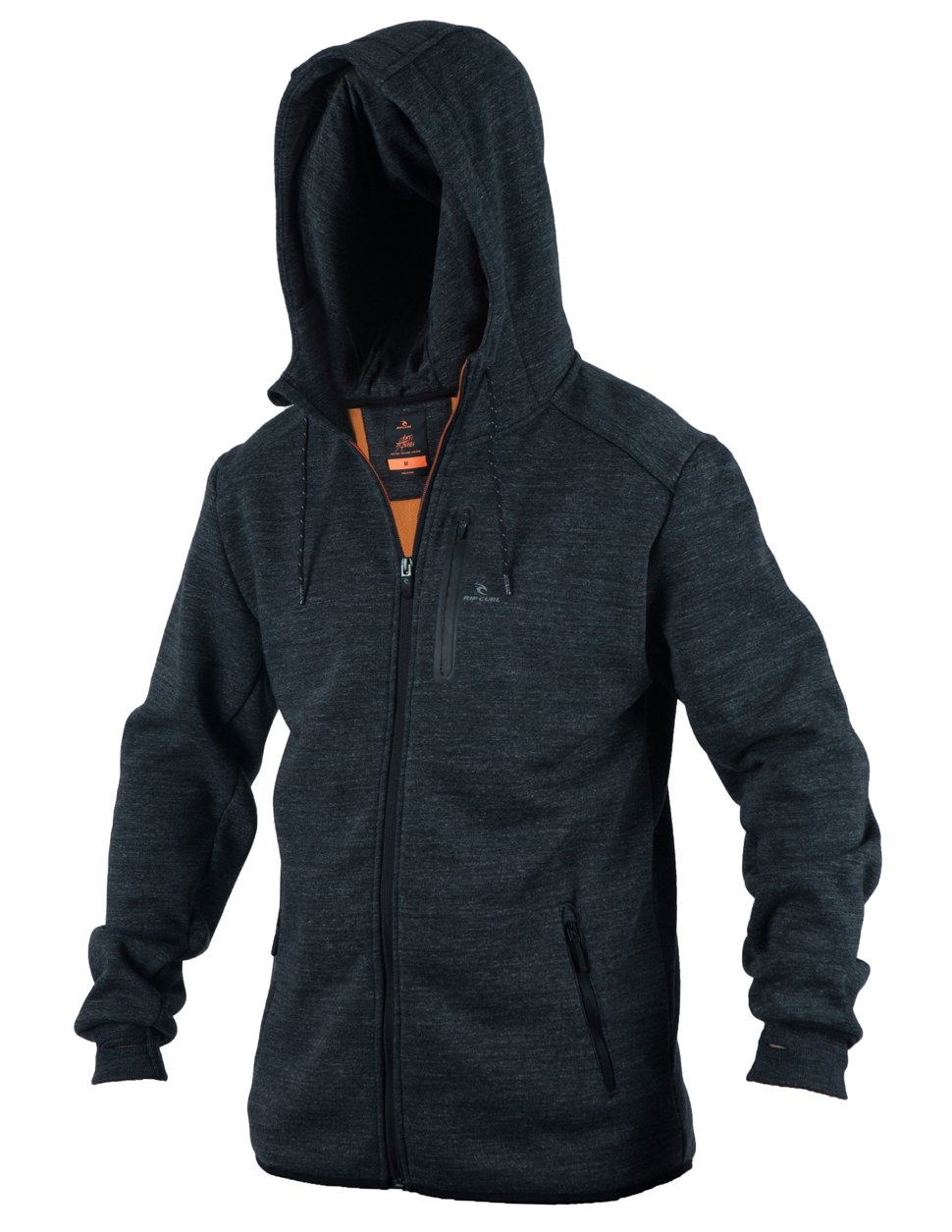 Rip Curl Boys Departed Anti Series Fleece Charcoal Grey