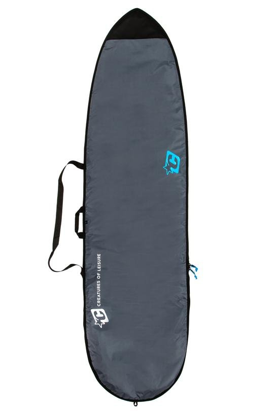 Creatures of Leisure Longboard Lite Bag '19 Charcoal Cyan