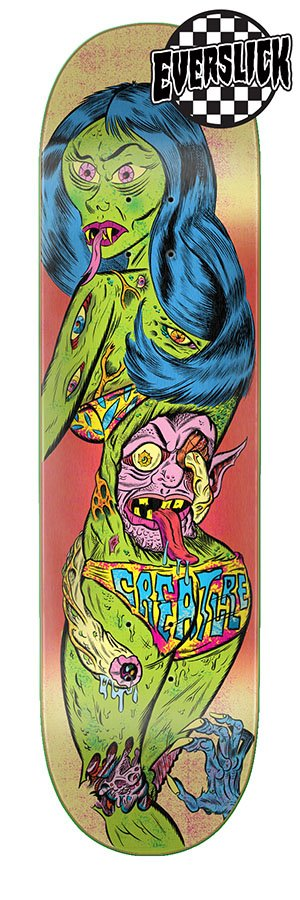 Creature Bods Cindy Everslick Deck 8.0